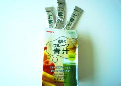 朝のフルーツ青汁3